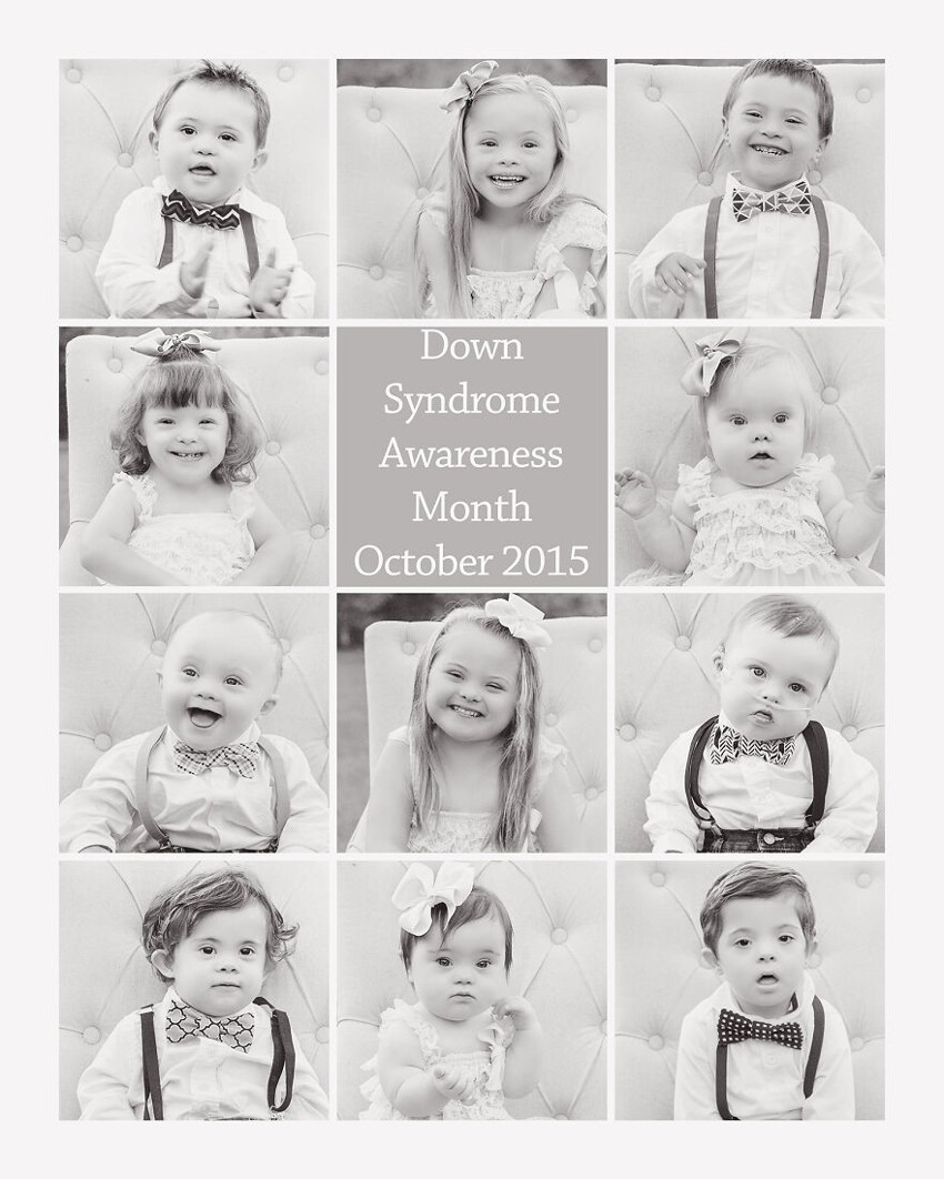 I want people to see these children and know that if they are having a baby who has been diagnosed with Down Syndrome, they will be blessed beyond words