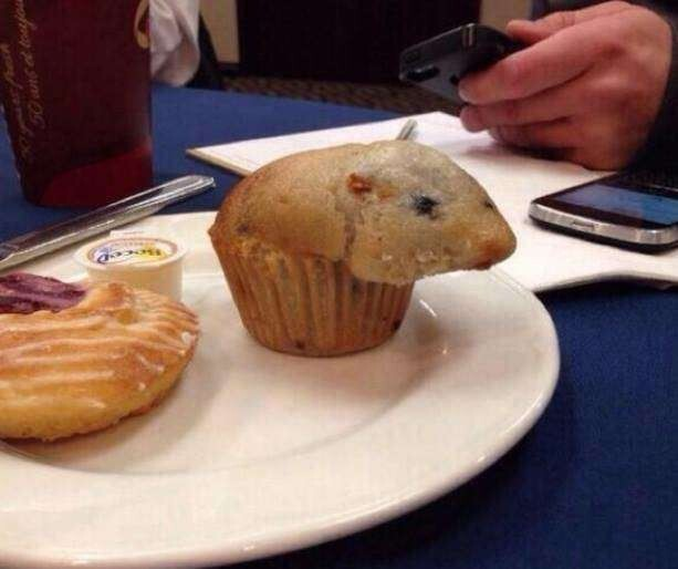 "13. ""Please don't eat me,"" says the mouse muffin"