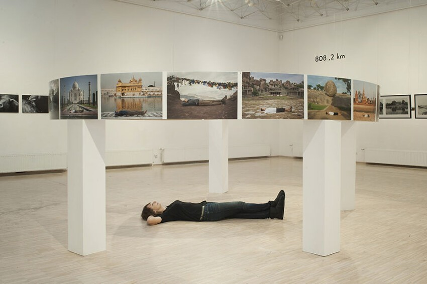 "The first ""If I lay here"" exhibition, Poznań, Poland"