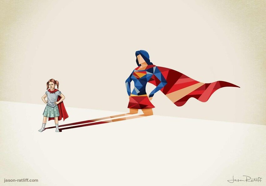 Super Shadows: I Explore The Power Of A Child's Imagination