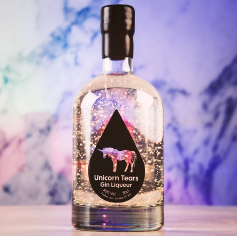 23. And lastly, this gin that's supposed to taste like unicorn tears (aka pure magic):