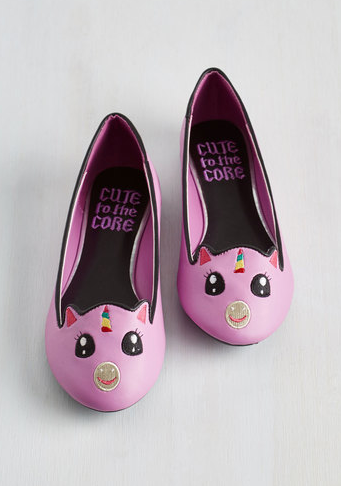 4. These darling unicorn ballet flats: