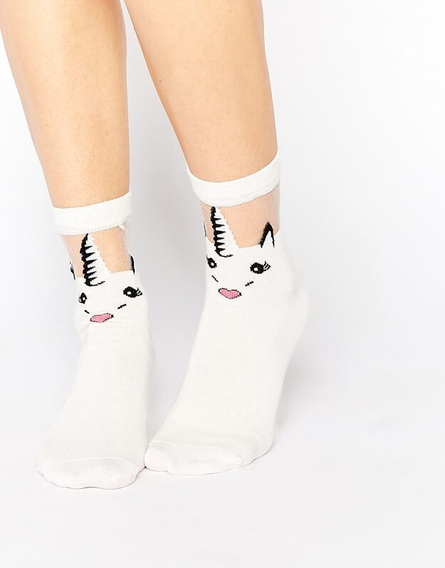 1. These dream-come-true sheer socks: