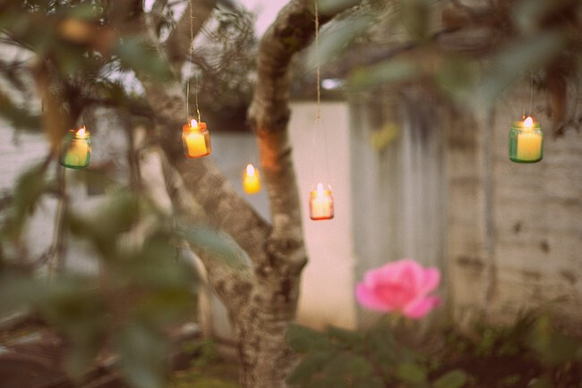 Light up the backyard with these darling luminaries.