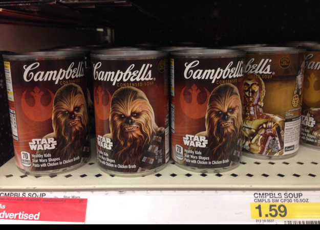 11. And, oh no. Star Wars SOUP: