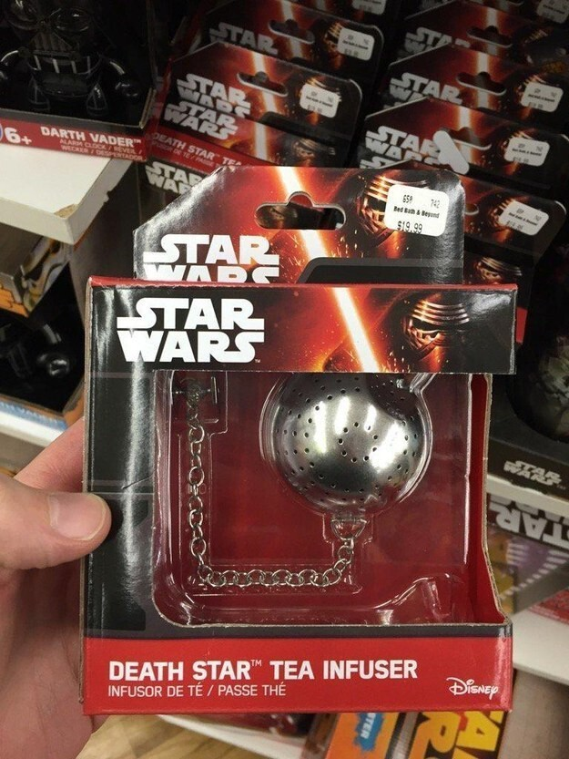 5.  There are Star Wars tea infusers???