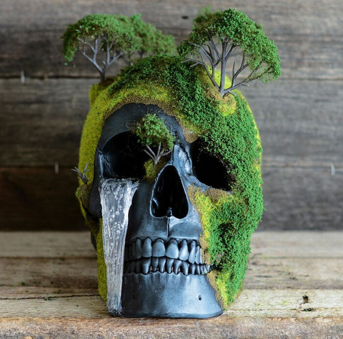 Bonsai Skulls Bring The Dead To Life