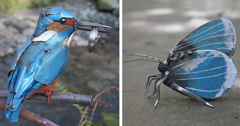 I Turn Scrap Metal Into Animals