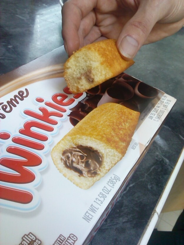 10. No Twinkie should be void of its magical innards