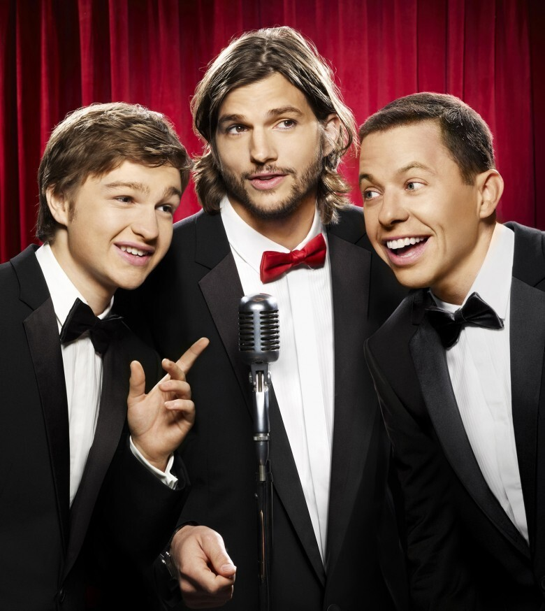8. Ashton Kutcher- $750,000 per episode, Two and a Half Men