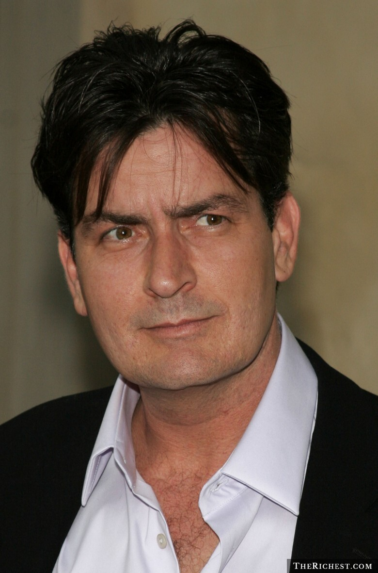 1. Charlie Sheen- $1.8M per episode, Two and a Half Men