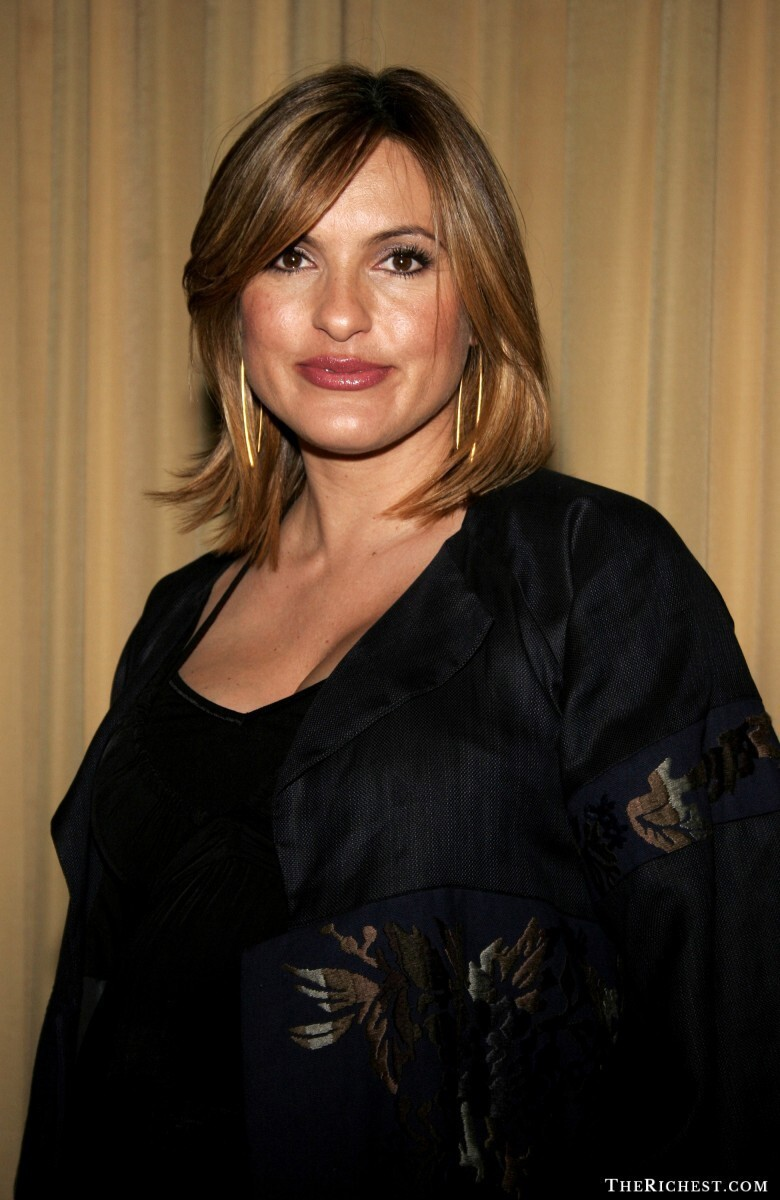 10. Mariska Hargitay – $500,000 per episode, Law & Order: Special Victims Unit