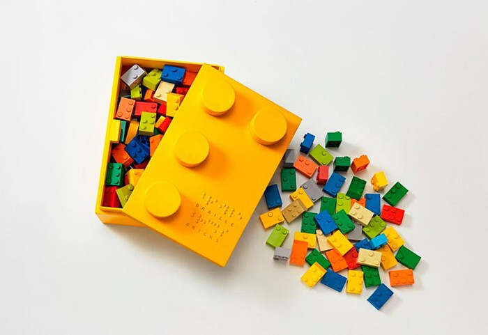 Innovative Braille LEGO-Style Bricks Help Blind Children Learn To Read While Playing