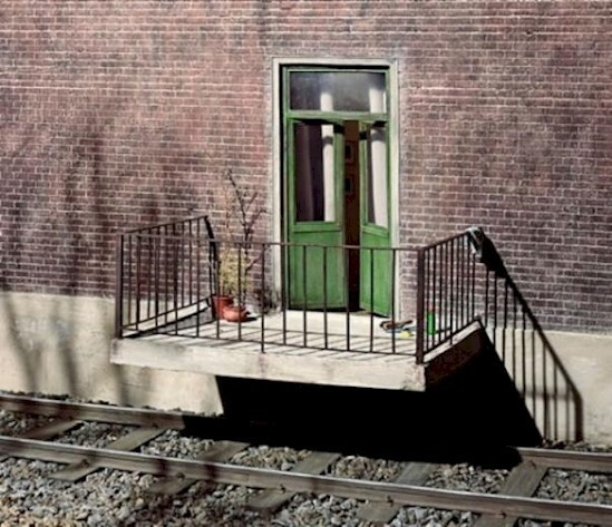 9. What a mistake. I mean, who builds a railroad track right under a patio?