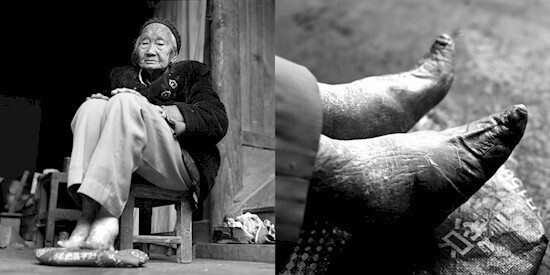For Si Yin Zhin, foot binding was just part of life.