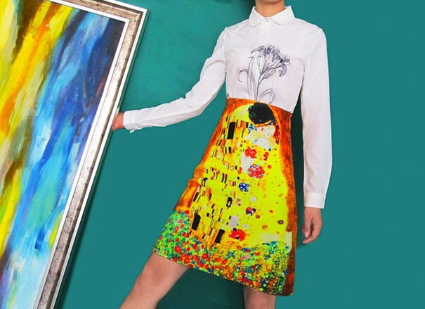 Now You Can Wear Your Favorite Art Masterpieces