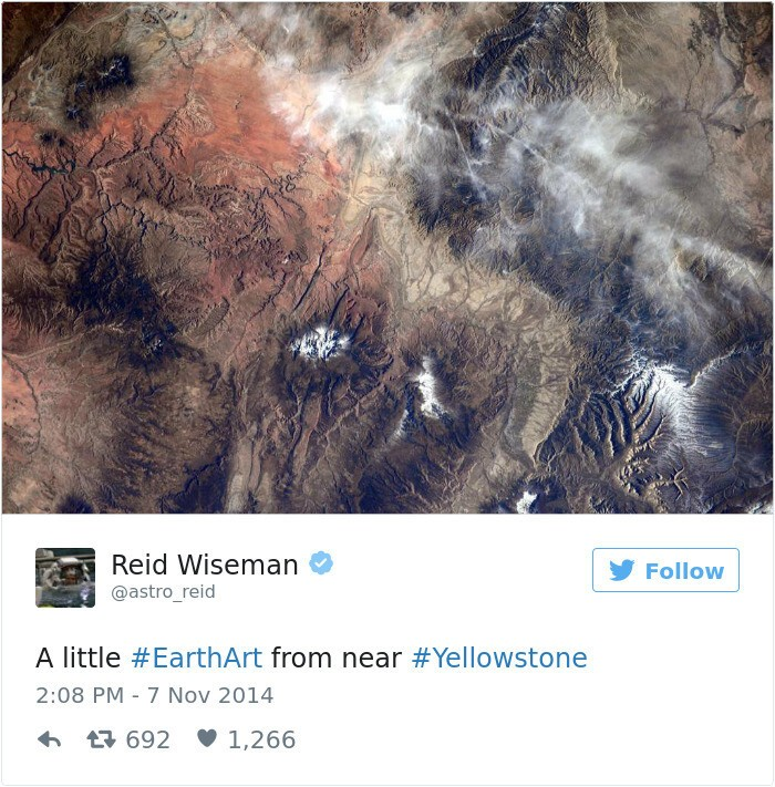Astronaut's Tweets From Space Show That It's The Best Job In The World