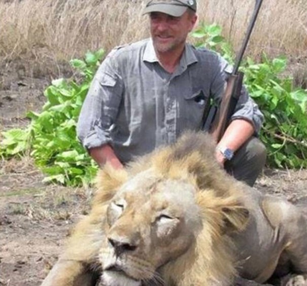 The infamous vet Luciano Ponzetto enjoyed hunting big game animals as a hobby