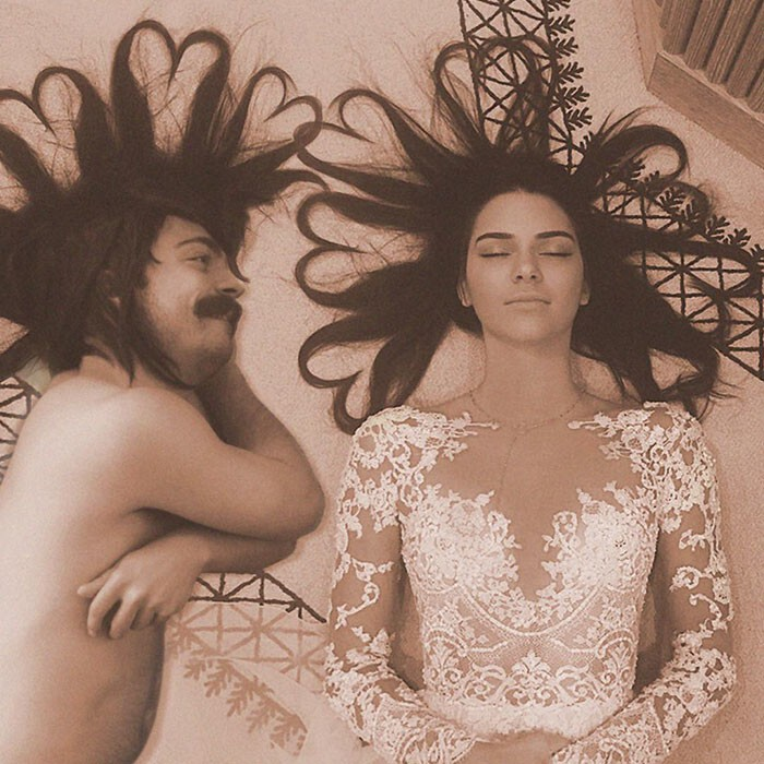 Man Photoshops Himself Into Pictures Of Kendall Jenner, Makes Them 10 Times Bette