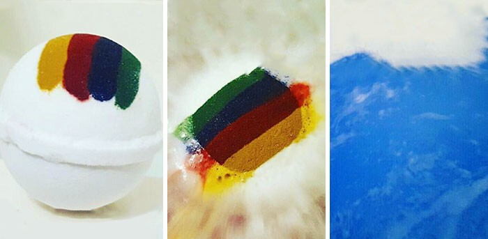Harry Potter Bath Bomb That Tells Which Hogwarts House You Belong In When It Dissolves