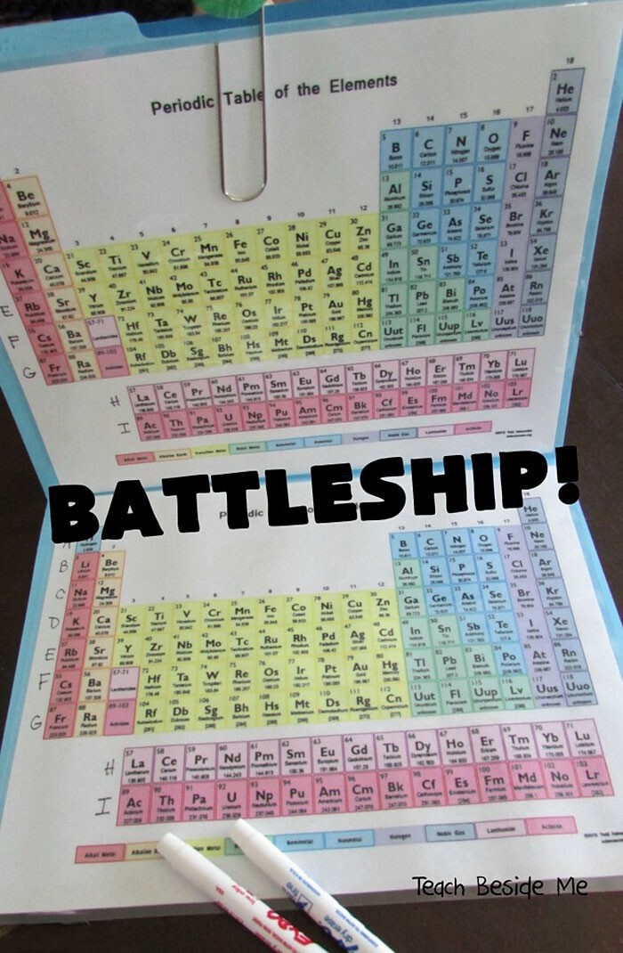 """This game can be played even by kids who know nothing about the Periodic Table Yet"""