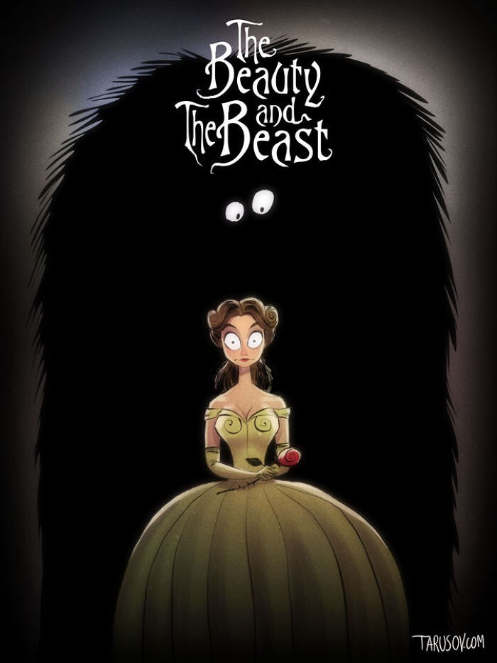 If Tim Burton Directed Disney Movies