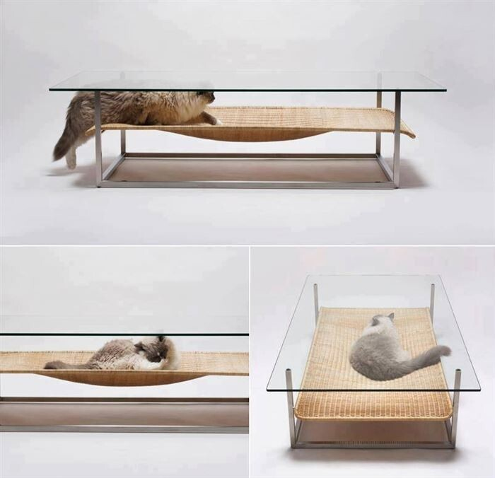 11. Indoor cat hammock
