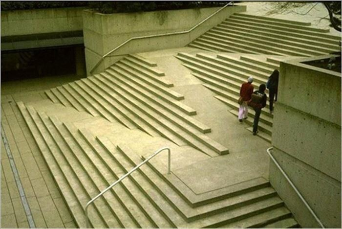 5. Wheelchair-accessible staircase