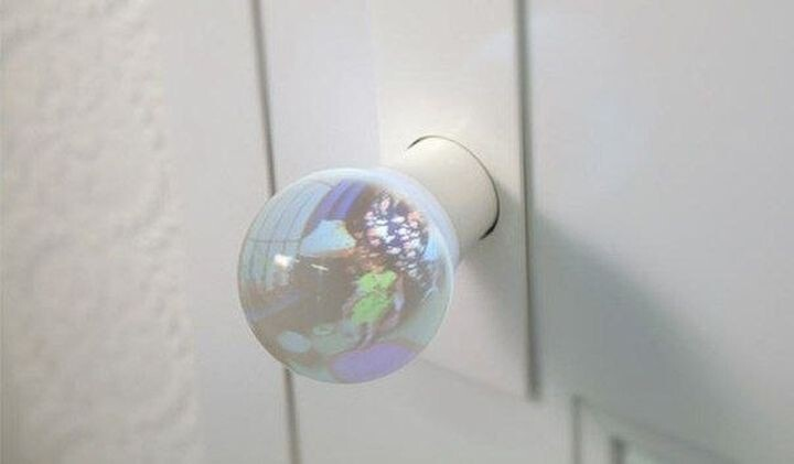 10. Spying glass doorknob