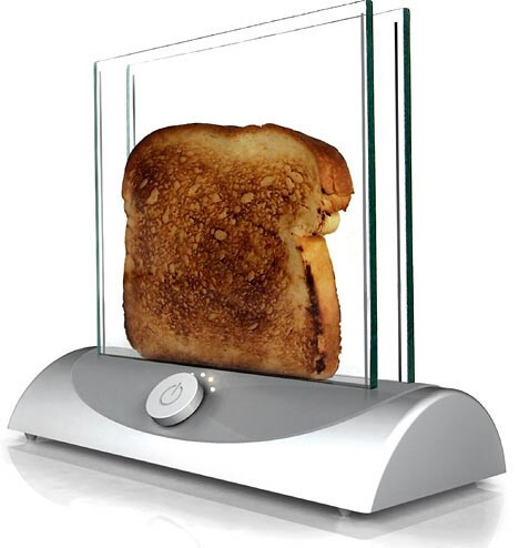 7. Glass toaster