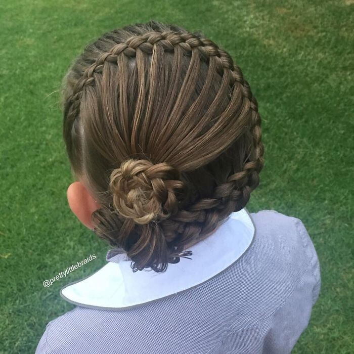 Sometimes braiding seems more like art than an everyday hairstyle