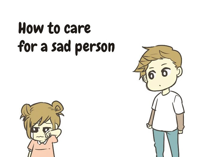 How To Take Care Of A Sad Person