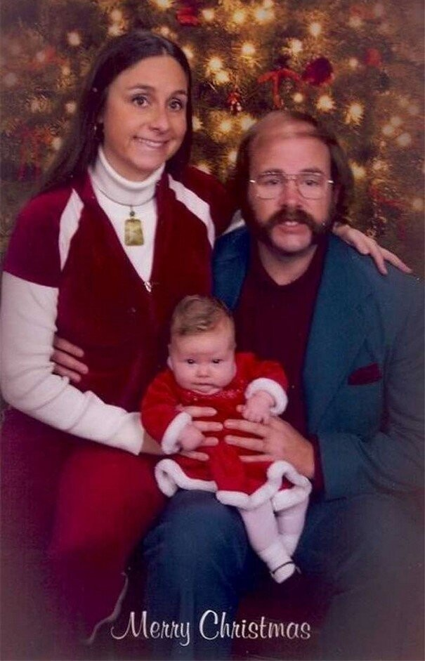 2010, Olin Mills Family Portrait from 1981