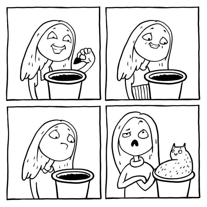 Girl Problems Illustrated In 31 Funny Comics By Russian Artist Anastasia Ivanova