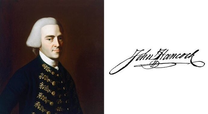 #3 John Hancock - The First And Third Governor Of The Commonwealth Of Massachusetts