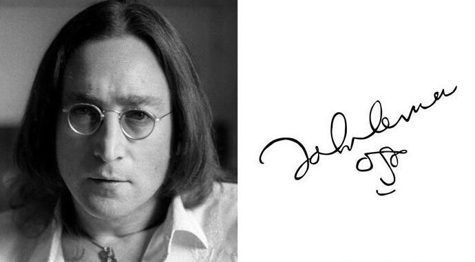 #12 John Lennon - English Singer, Songwriter, And Peace Activist Who Co-Founded The Beatles