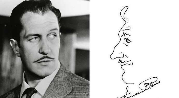 #1 Vincent Price - American Actor, Well Known For His Distinctive Voice And Performances In Horror Films