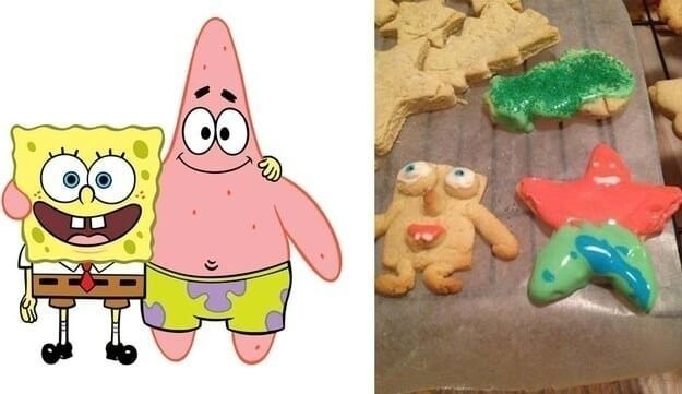 19. Spongebob and Patrick IN THE FLESH: