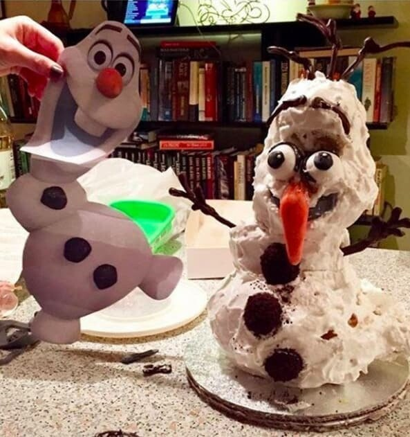 3. Olaf after the accident: