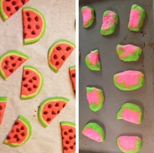 10. These melon cookies: