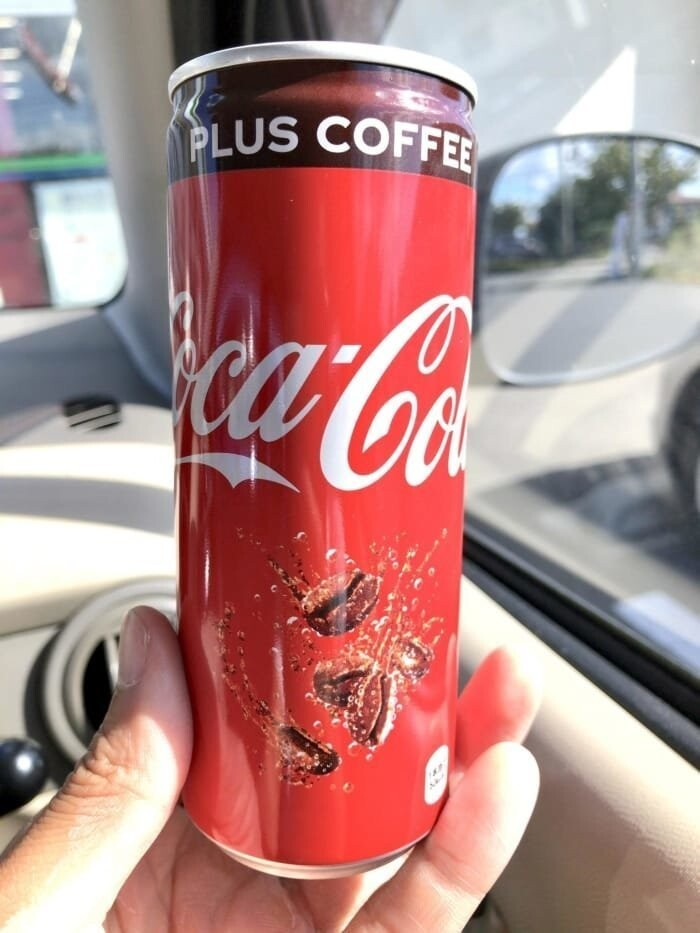 5. They have Coca-Cola WITH coffee for all the caffeine addicts out there.