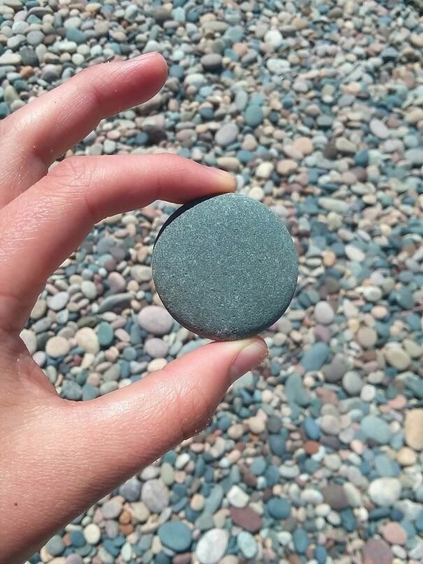 #33 How Perfectly Round This Natural Stone Is