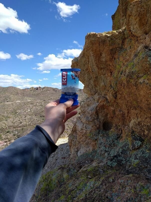 #12 Found The Cliff This Clif Bar Came From