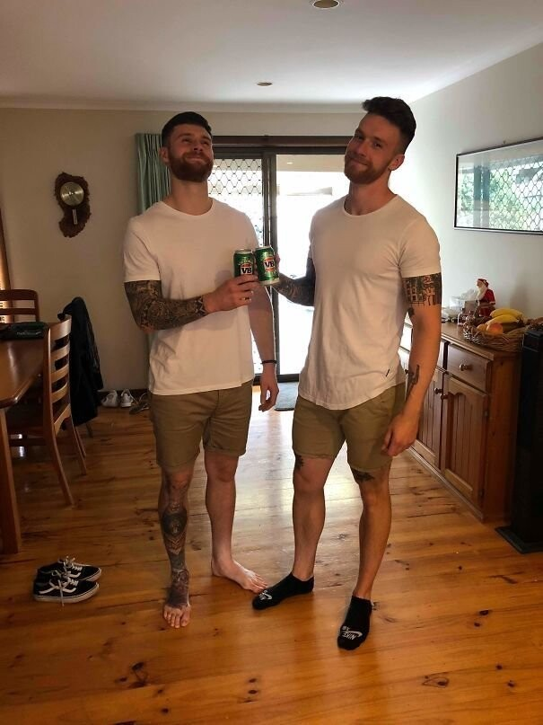#9 My Brother Just Travelled Half Way Round The World And We're Wearing The Same F*cking Clothes