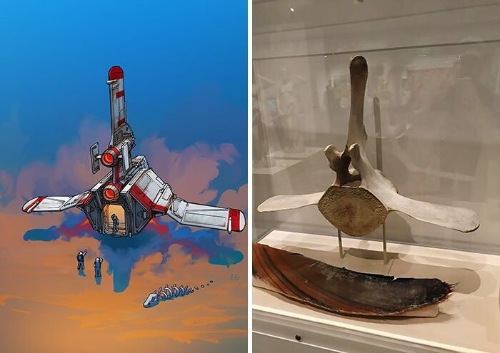 Artist Turns Everyday Objects Into Spaceship Designs, And The Result Is Out Of This World