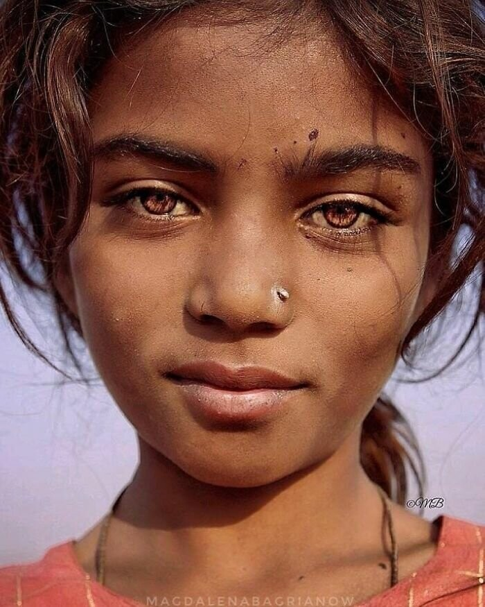 Young gypsy girl from the Kalbelia caste