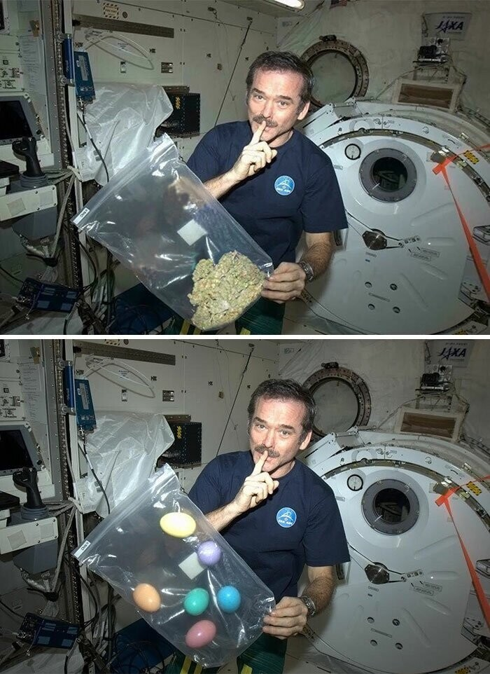 #2 Astronaut Smoking Marijuana In Space