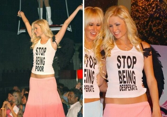 #23 Paris Hilton's Offensive T-Shirt