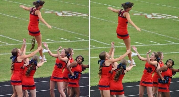 #21 Viral Photo Of A Pooping Cheerleader