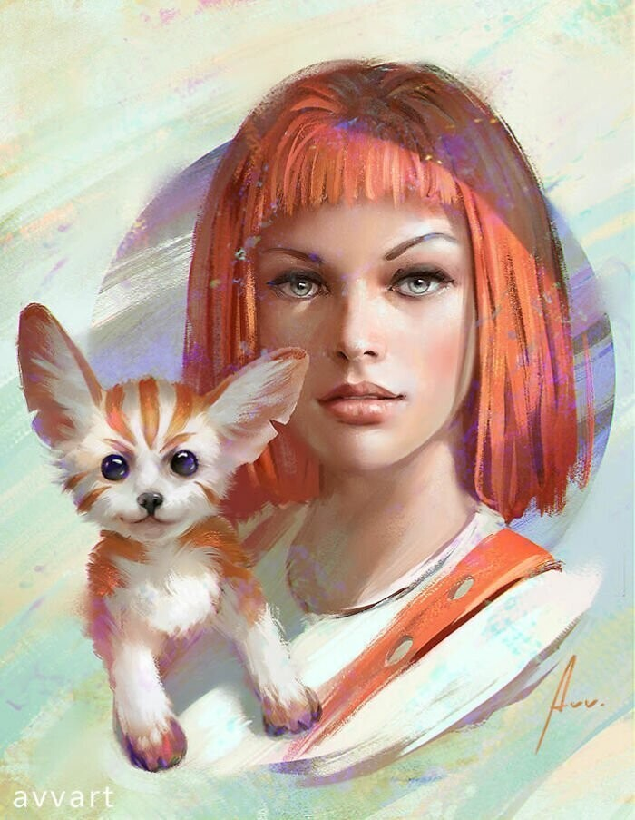 "Leeloo (Mila Jovovich in ""The Fifth Element"")"